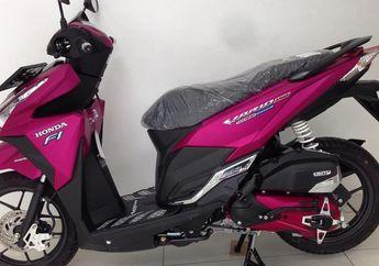 Jarang Ada Nih, Honda Vario 150 Ini Warna Aslinya Pink, Belinya Langsung dari Dealer
