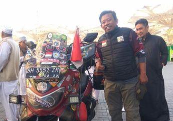Blak-blakan Lilik Gunawan Naik Yamaha NMAX ke Mekkah, Habiskan Jutaan Rupiah Cuma Untuk Bensin