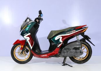 Pakai Livery Legendaris, Yamaha Lexi Sabet Juara Daily Customaxi Bekasi