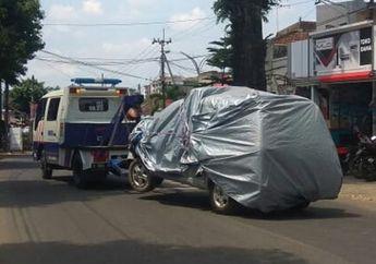 Malang Geger, Mobil Patroli Polisi Melaju Kencang Tabrak 5 Motor dan 2 Mobil, Ada Korban Yang Sampai Terseret