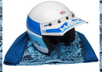 Cocok Buat Penggemar Motor Lawas, Kenalin Nih Helm Bell 'Custom 500 SE Haro' Edisi Terbatas