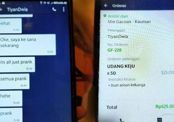 Tega Banget, Driver Ojek Online Mendadak Lemas, Dapat Order Fiktif Sampai Rp 525 Ribu, Kena Prank Sama Bocah SMP