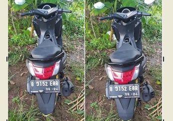 Geger Yamaha NMAX Mulus Ditemukan Warga, Cover Body Tengah Terbuka Seperti Ditinggal Maling