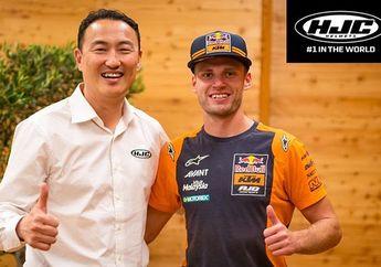 Gak Kalah Dari  Crutchlow dan Iannone, Tambah Lagi Pengguna Helm HJC Di MotoGP