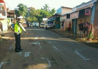 Cianjur Berdarah, Dua Orang Pemuda Naik Suzuki Satria F-150 Coba Salip Bus, Berakhir Tragis di Kolong Truk Hingga Tewas Terseret