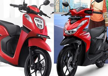 Harganya Selisih Sejutaan, Apa Sih Bedanya Honda BeAT dengan Genio?