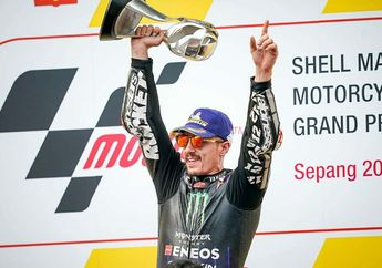 Wuih! Yamaha Perpanjang Kontrak Maverick Vinales Hingga 2022, Bagaimana Valentino Rossi?