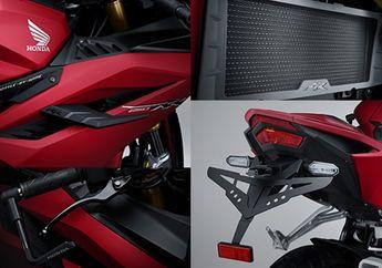 Bikin Keren Honda CBR250RR Modal Part Modifikasi Resmi, Ada Yang Cuma Rp 150 Ribu