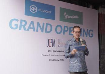 Breaking News, Dealer Piaggio-Vespa Hadir di Rawamangun, Usung Konsep Motoplex dengan 3S