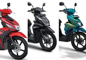 Mana Yang Termurah Ya? Honda BeAT 2020, Yamaha Mio atau Suzuki Nex II, Ini Daftar Harga Lengkapnya