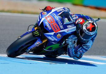 Resmi Jadi Test Rider, Ternyata Nomor Start Jorge Lorenzo Unik Banget, Gabungan dari 4 Pembalap Yamaha