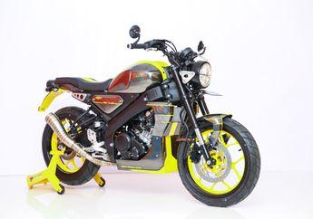 Sangar Nih, Banyak Pakai Part Custom, Yamaha XSR 155 Ini Juara Yamaha Heritage Built Denpasar 2020