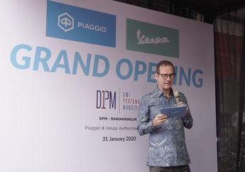Komunitas Minta Vespa Bangun Pabrik di Indonesia, Begini Tanggapan Bos Piaggio