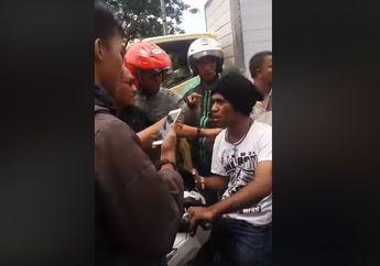 Sehabis Merampas Motor Debt Collector Ketinggalan Tim Dikepung Massa Tak Berkutik