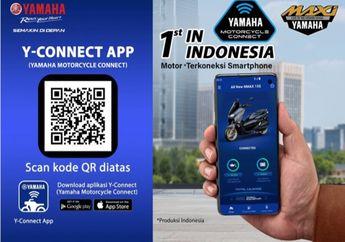 4 Langkah Sambungkan Fitur  Y-Connect di Yamaha All New Nmax 155 Connected/ABS  Dengan Smartphone