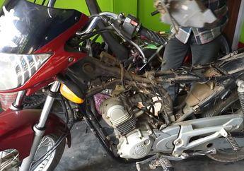 Bikers Bisa Melongo, Video Proses Motor Sport Diubah Jadi Motor Listrik, Setang Piston Buntung Kena Gerinda