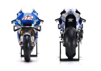 Didominasi Warna Silver dan Biru, Tunggangan Suzuki Jelang Motor MotoGP 2020 Lebih Sangar