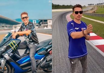 Video Jorge Lorenzo Naik Yamaha NMAX Modifikasi Menguak Rahasia Menaklukan Sirkuit Sepang