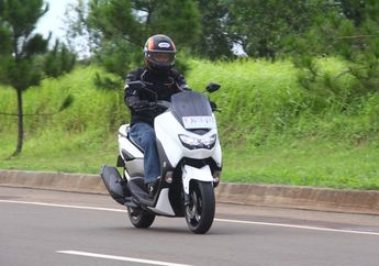 Kencang Mana Adu Top Speed Yamaha All New NMAX Vs Yamaha NMAX Lama, Ini Hasil Tesnya