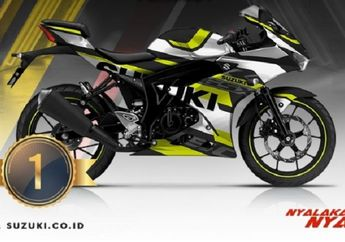 Keren, Ini Dia 3 Pemenang GSX Series Digital Modifikasi Periode 1 Garapan Suzuki Indonesia