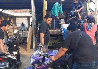 Pamekasan Geger, Petugas Kepolisian Bongkar Gudang Motor Bodong, 10 Motor Ditemukan Tanpa Surat-surat Lengkap