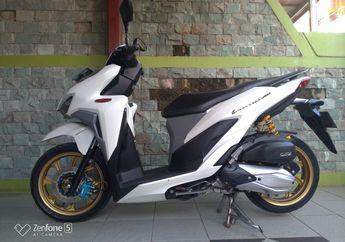 Tampilan Jadi Makin Gagah, Segini Ongkos Bikin Sokbreker Belakang Honda Vario Jadi Dobel