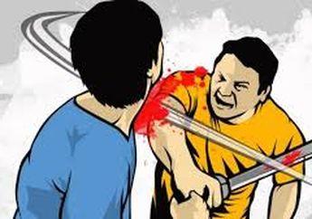 Jatinangor Berdarah! Seorang Juru Parkir Bacok Tiga Pelajar, Satu Korban Tutup Usia