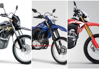 Murah Mana Kawasaki KLX 150, Yamaha WR 155R atau Honda CRF150L? Berikut Daftar Harganya Februari 2020