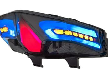 Honda Vario 125/150 Jadi Warna-warni Aplikasi Stoplamp LED  3 in 1