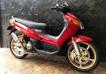 Yamaha Nouvo Sporty Modifikasi Hedon, Dijual Dengan Harga Menarik