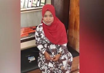 Cewek Jagoan Bikin Jambret Bertekuk Lutut, Pelaku Dikeroyok Warga dan Digiring ke Kantor Polisi