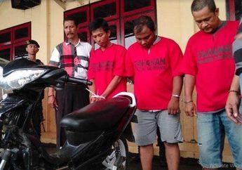 Modal Rp 1 Juta Beli Yamaha Jupiter Bodong, Ganti Pelat Nomor Malah Berakhir di Penjara