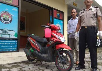 Warga Geger, Langsung Amankan Honda BeAT Yang Dibawa Oleh Pemuda 17 Tahun, Ternyata Milik Salah Satu Ustadz di Pesantren