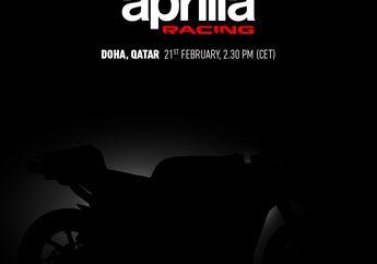 Jadi Tim Pabrikan Terakhir, Aprilia Gelar Launching Jelang Tes Pramusim MotoGP 2020 Qatar