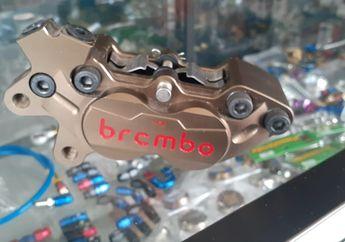 Rasa Moge! Honda PCX 150 Pasang Kaliper Rem Brembo Supercopy