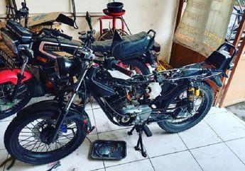 RR Partshop Spesialis Restorasi Yamaha RX King, Biaya Suka-suka Motor Rongsokan Disulap Jadi Baru
