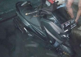 Sakti Macam Jetski Yamaha NMAX Trabas Banjir dan Terendam di Teras Rumah Cuma Ganti Oli