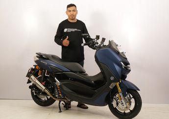 Banyak Ubahannya, Ini Yamaha All New NMAX Pertama yang Ikutan di Customaxi x Yamaha Heritage Built 2020