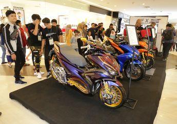 Serunya Customaxi x Yamaha Heritage Built 2020 Pontianak, Didominasi Aerox 155