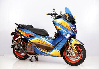 Canggih, Pakai Kamera di Depan dan Belakang, Yamaha NMAX Ini Dapat Gelar Master di Customaxi Pontianak