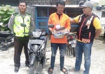 Hamsah Si Penjahat Amatiran Kurung Diri di Kamar, Gara-gara Suzuki Smash Gemetaran Didatangi Polisi