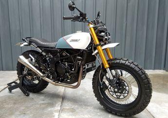 Gak Nyangka, Basis Motor Scrambler Ini Kawasaki Ninja 250 SL