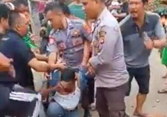 Mencekam Video Debt Collector Diamuk Warga Darah Mengalir Deras Dimuka Ternyata Polisi Militer