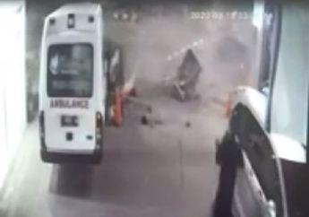 Merinding, Detik-detik Pajero Sport Hantam Becak, Motor dan Warung di Cirebon, 2 Orang Tutup Usia Terseret Mobil