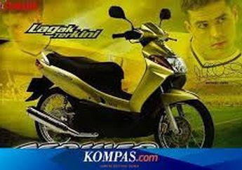 Jadi Inspirasi Yamaha NMAX 155, Yuk Intip Sejarah Skutik Legendaris yang Dibintangi Pesepakbola Michael Owen Ini