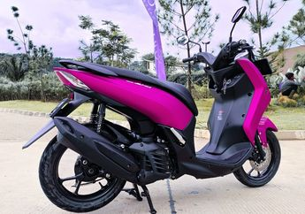 Demam Pasang Sokbreker Belakang Yamaha Lexi Jadi Dobel, Diajak Manuver Makin Enak