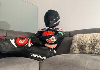 Bete Parah! Gak Juga Balapan MotoGP, Fabio Quartararo Sampai Pakai Racing Suit di Rumahnya