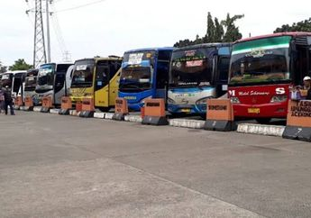 Kurangi Penyebaran Virus Corona di Daerah-daerah, Mulai Sore Ini Bus AKAP dan AJAP Dilarang Beroperasi
