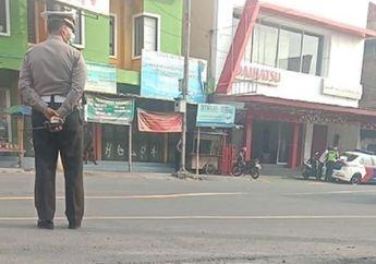 Waduh, Sudah Dilarang Polisi di Jambi Masih Nekat Gelar Razia, Tertangkap Kamera Tilang Pemotor