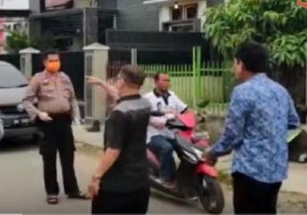 Pemotor Ketakutan,  Anggota DPRD Medan Nyaris Ribut dengan Polisi Karena Ditegur: Mana Corona, Sini Aku Telan!